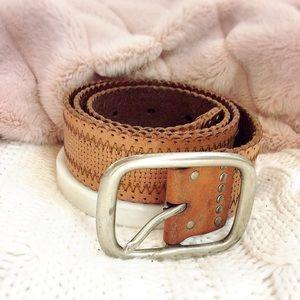 Accessories - BOHO Tan Belt
